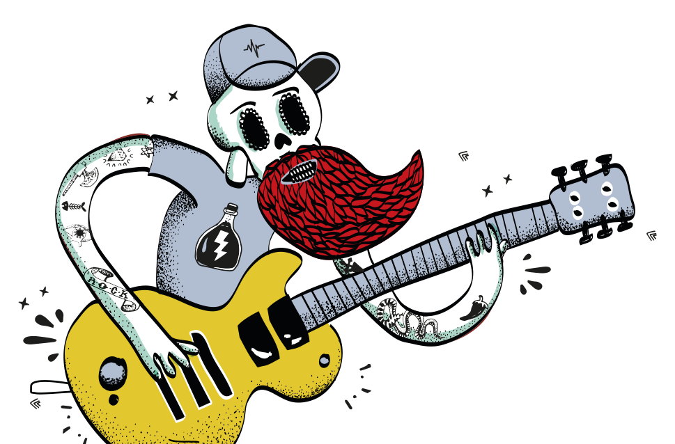 Glanum Rock - Illustration