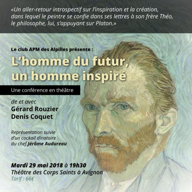 Conférence-théâtre L'homme Inspiré